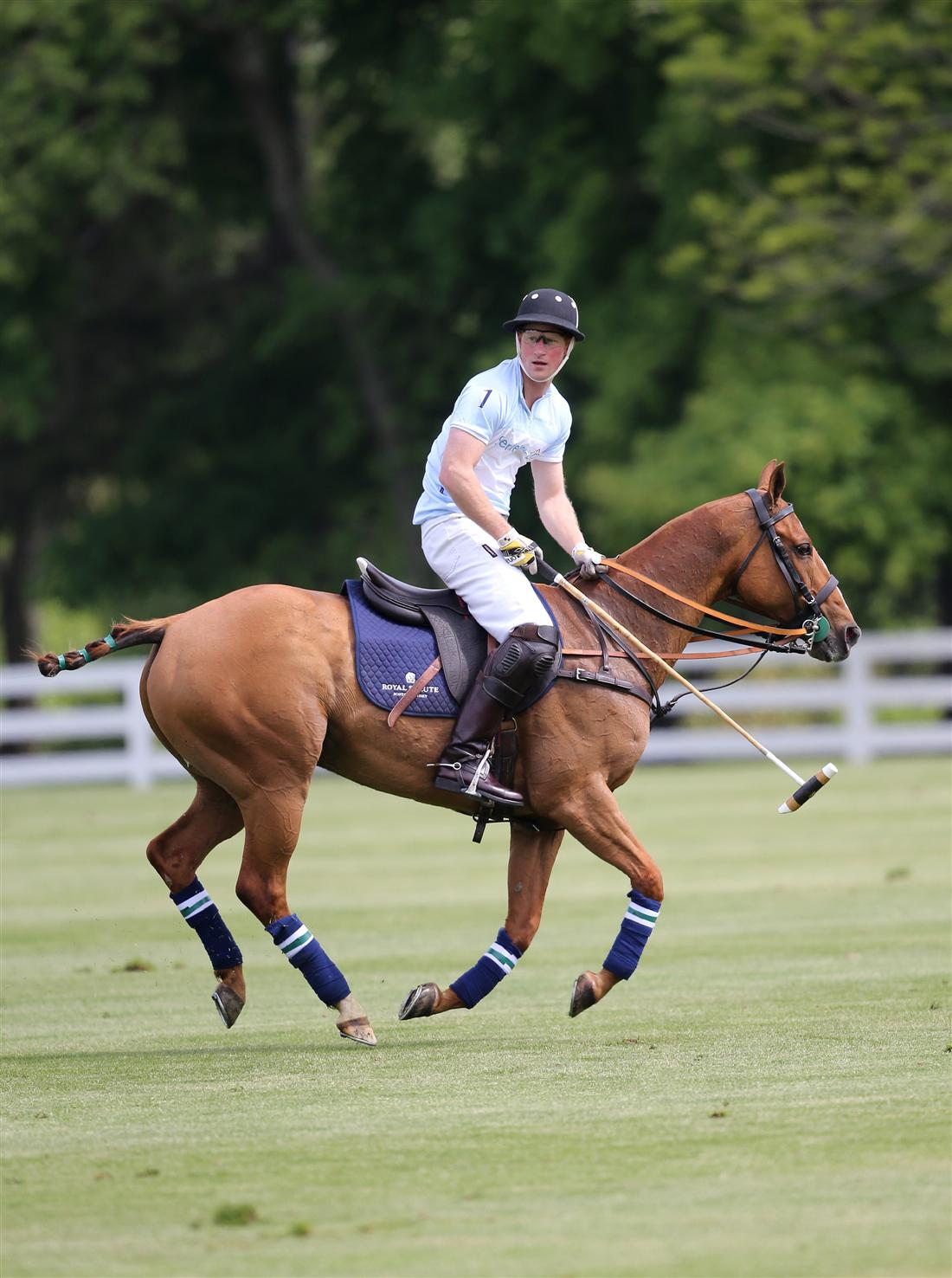 HRH Prince Harry Plays for Sentebale Greenwich Polo Club 2013 (2)