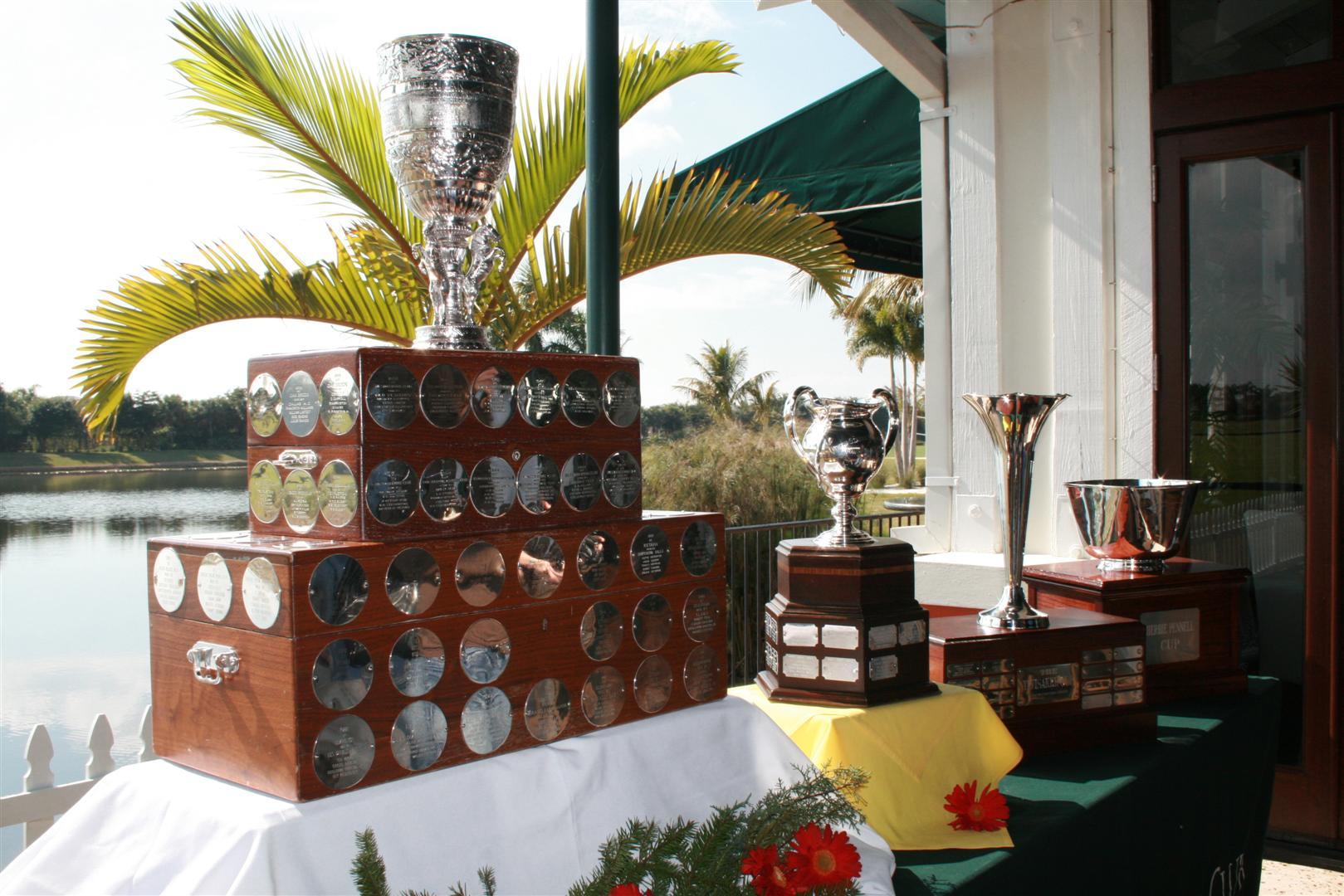International Polo Club Florida USA  Season Trophies