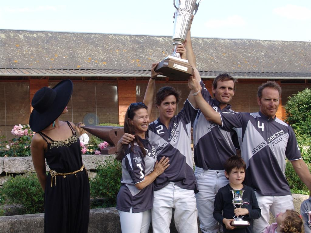 Polo Charity Cup à Chantilly: victoire de Murus Sanctus